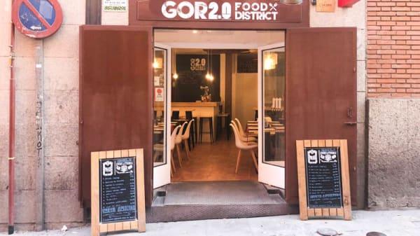 Vista sala - Gor2.0 Food District, Madrid