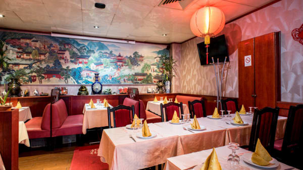Salle du restaurant - Le Mandarin Dunois, Paris