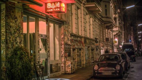 Fassade - BAN CANTEEN, Hamburg