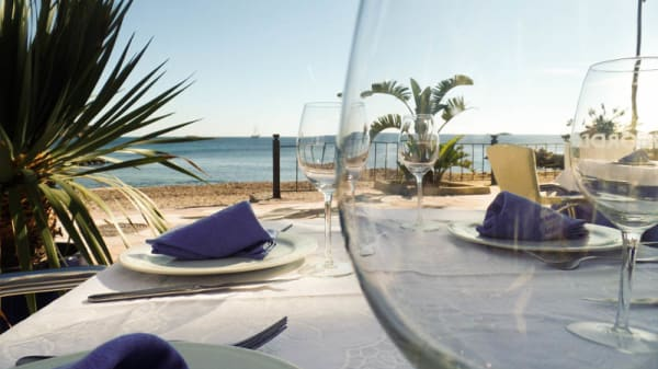 vista al mar - América Restaurante, Eivissa