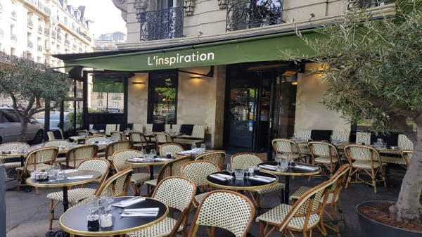 terrasse - L'Inspiration, Paris