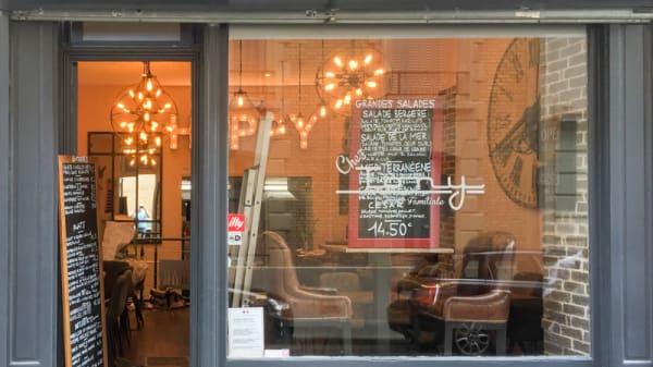Entrée - Chez Tony, Paris