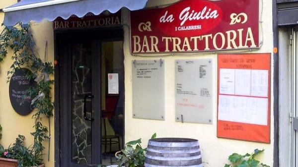 Locale - Trattoria da Giulia - I Calabresi, Genova
