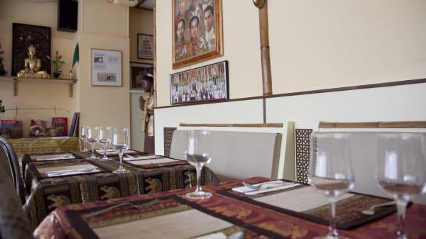 Vue interieure - Les Délices du Siam, Renens