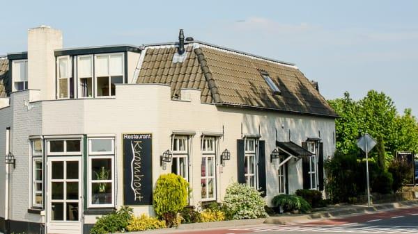 restaurant aanzicht - Restaurant Kromhout, Andelst