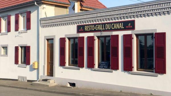 Façade - Resto Grill du Canal, Hochfelden