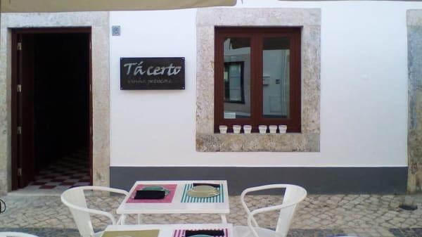 Esplanada - Tá Certo, Vila Real de Santo António