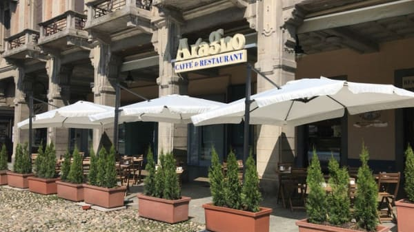 dehor ed ingresso - Gran Caffè Aragno, Mondovì