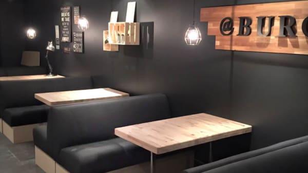 Restaurangens rum - @Burger, Kungsbacka