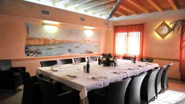 sala ristorante - Mulinello, Venezia