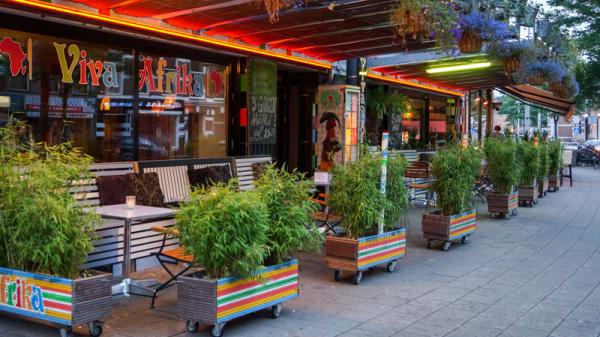 Ingang - Viva Afrika, Rotterdam