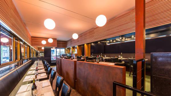 Interior - Seafood restaurant Brasserie Bark, Amsterdam