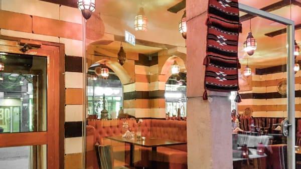Restaurangens rum - Jasmin Alsham, Malmö