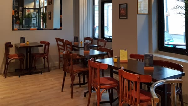 Salle de restaurant - Les Petits Céleste, Paris
