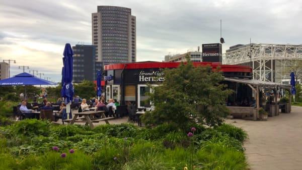 Ingang - Hermes, Amsterdam
