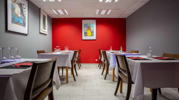 Vue de la salle - MK Pizza, Marseille