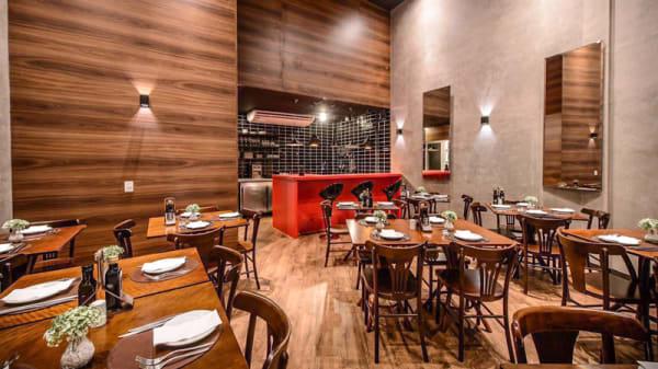 Interior da casa - Lavetti Pasta & Burger - Alto Pinheiros, São Paulo