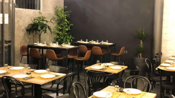 Vista sala - Mondo Pizza - Unconventional Giropizza, Torino