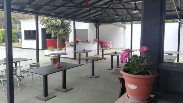I nostri tavoli all'aperto - Trattoria La Pazz, Zagarolo