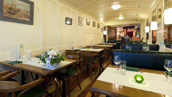 Salle du restaurant - Le Thermomètre, Genève