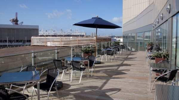 Terrace - Holiday Inn, Twenty Twelve Restaurant Bar & Terrace, London