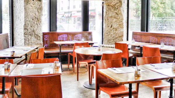 Vue salle - Café de la Presse, Genève