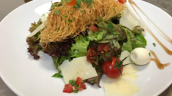 salade kadaif - L'Orée du Parc, Charbonnières-les-Bains
