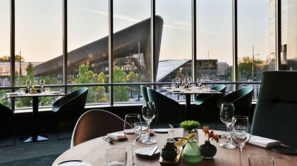 Het restaurant - The Millèn, Rotterdam
