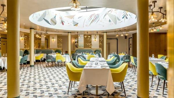 Vue de la salle - La Table du Burdigala - Hôtel Le Burdigala, Bordeaux