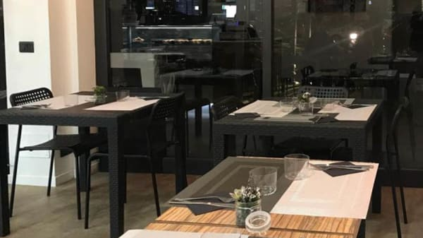 Vista sala - Icon Cafè, Milano