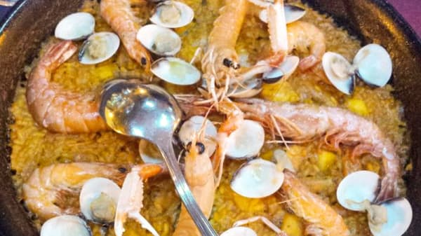 Sugerencia de plato - La Redona, Valencia