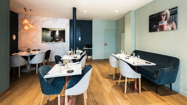 Vue de la salle - Restaurant H, Paris