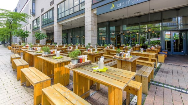 HANS IM GLÜCK Burgergrill & Bar - Köln MEDIAPARK, Köln