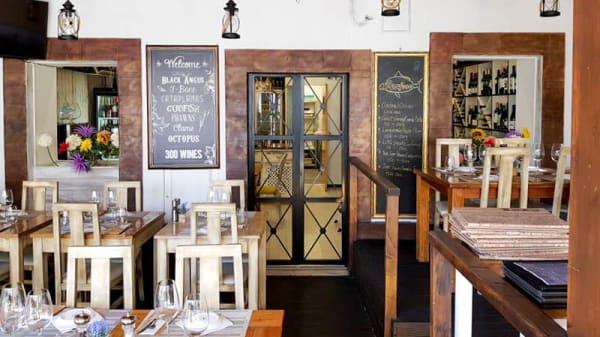 Vista do interior - Alvor Wine, Alvor