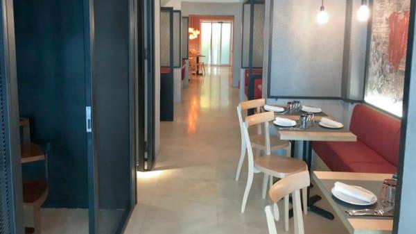 vista de la sala - Taverna Oníric, Barcelona