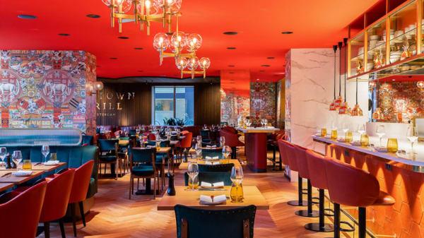 Het restaurant - Midtown Grill (Marriott Hotel), Amsterdam