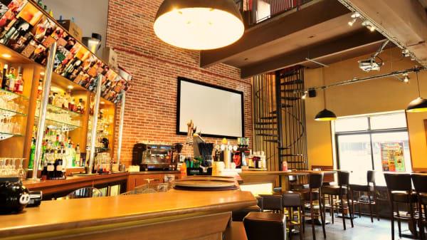 Le bar - Brasserie L'Effervescence, Cholet