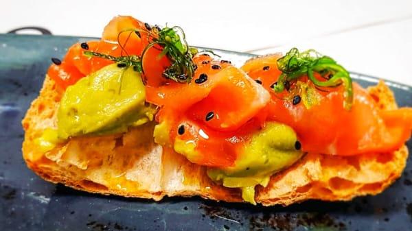 Sugerencia del chef - El Quizal, Autol