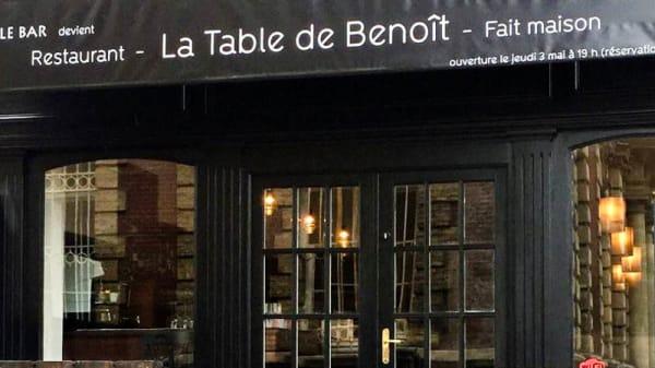 Entrée - La Table de Benoît, Fécamp
