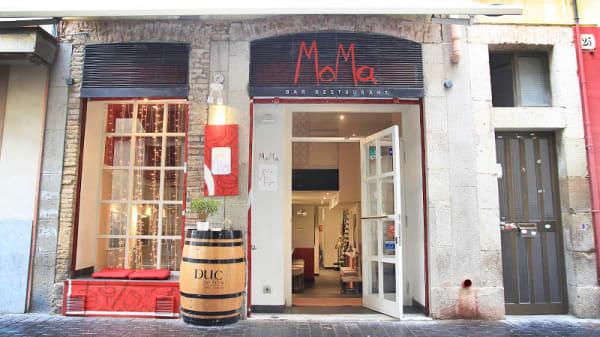 Vista entrada - MoMa, Barcelona