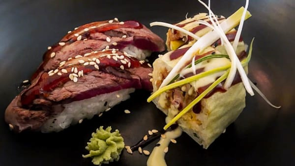 Beef + Duck sushi combo - Oriental Green House, Eindhoven