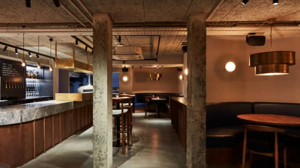 The Cellar, at Kindred. Open to all, no membership required. - Kindred Hammersmith, London