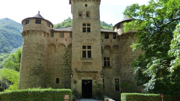 Entrée - Château de la Caze, Sainte-Enimie