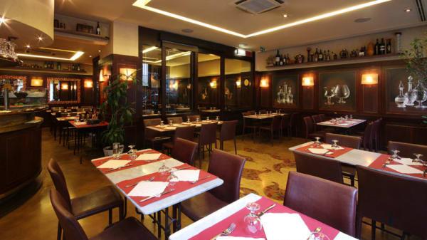 sala interna - Pane e Farina, Milan