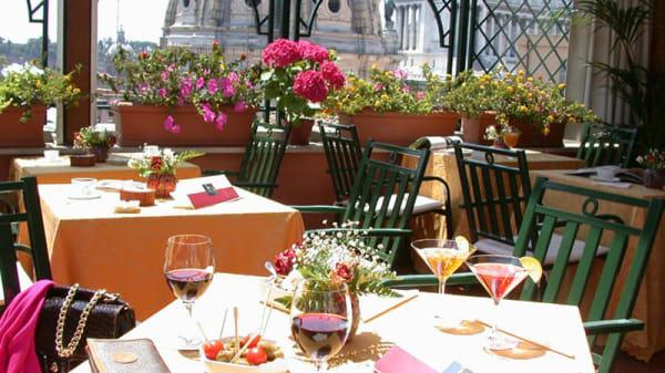 Terrazza - The Glass Bar & Restaurant, Rome