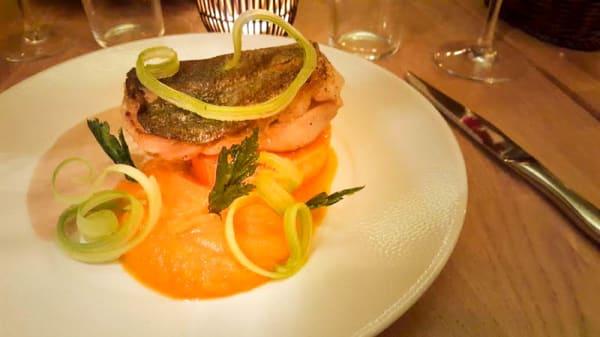 suggesiton plat principal - l'Ours Blanc, Paris