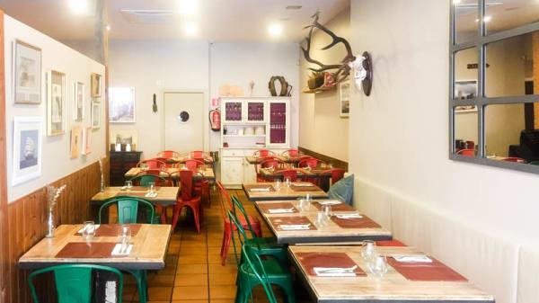 Vista de la sala - Mixturas Gastrobar, Madrid