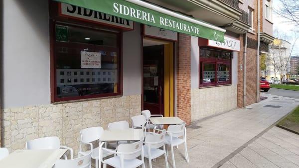 entrada - Sidrería La Villa, Oviedo