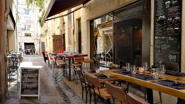 Vue de la terrasse - In Vino Veritas, Montpellier