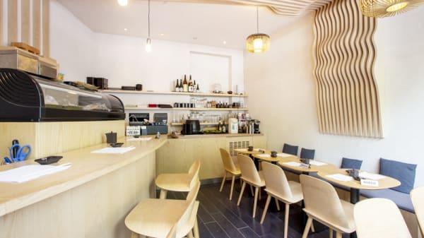 Vue de la salle - Le Bar à Sushi Izumi, Paris